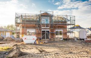 Bautrocknung / Neubautrocknung von Einfamilienhaus